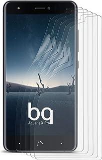 Matt skyddsfolie för BQ Aquaris X Pro, 5 x Stück, transparent