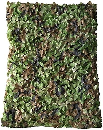 WNpb Woodland Camouflage Net Camouflage Net Woodland Prougeection Solaire Champ Camouflage Net Camping Armée Chasse Tir écran Solaire Net, Décoration de Fête à Thème (Taille   6 m×6m)