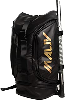 Large Lacrosse Bag - Lacrosse Backpack - Holds All Lacrosse or Field Hockey Equipment with Two Stick Holders and Separate ...