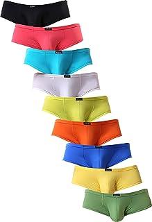 iKingsky Men's Soft Boxer Briefs U-Hance Pouch Mens Underwear