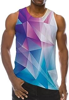 Men Summer Cool Funny Tank Top Gym Fitness Sleeveless T-Shirt
