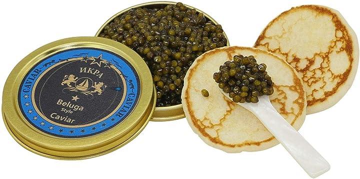 Beluga caviar premier (ibrido) (125g)  sepehr dad caviar B008EKAXIW