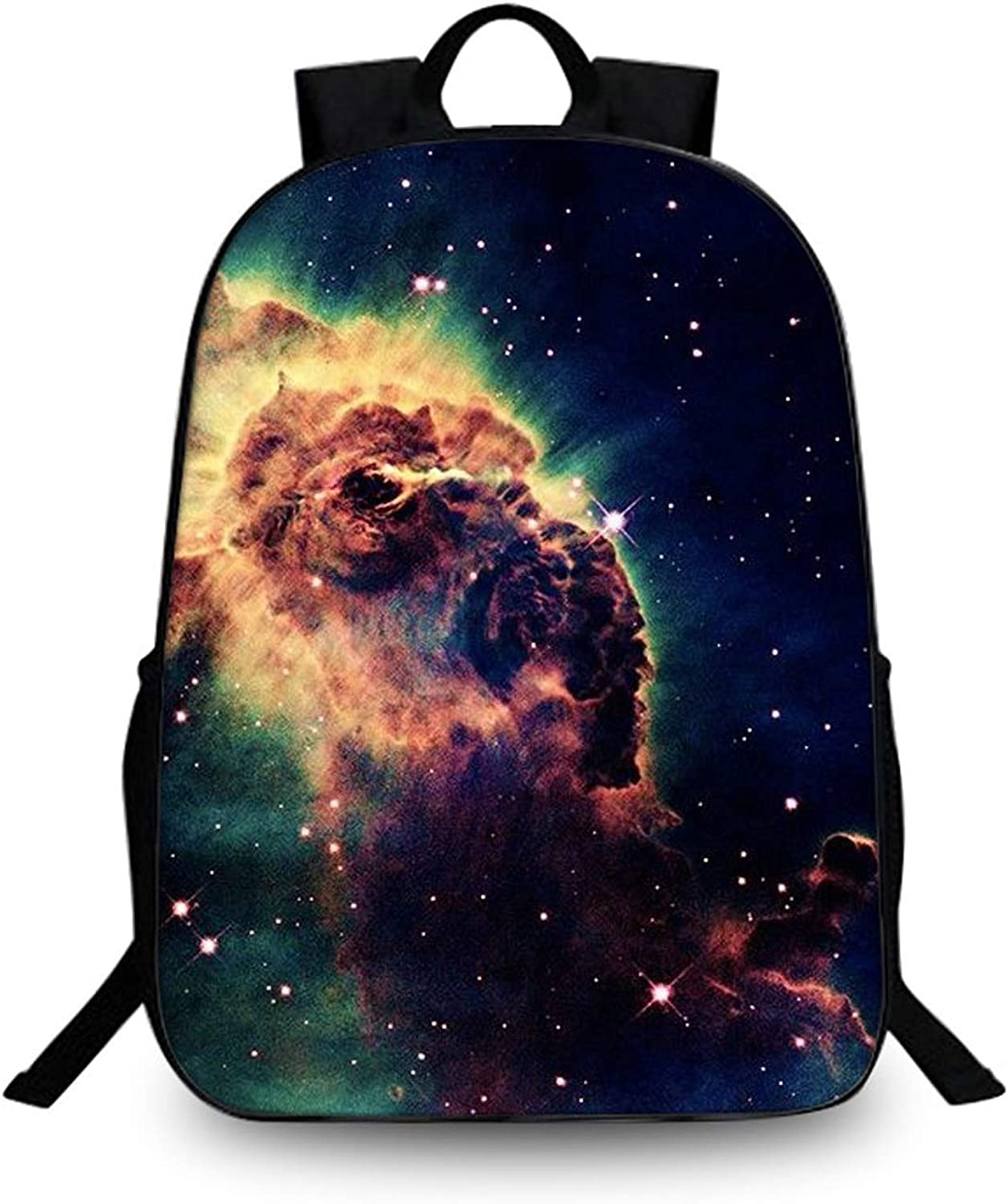 Fashion Print Backpack, Outdoor Sports Hiking Backpack Youth Leisure Riding Ultra Light Backpack Unisex School Bag (color   H)