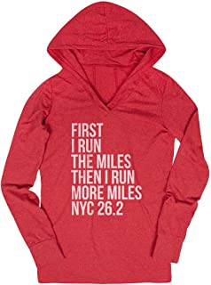 Running Lightweight Performance Hoodie | Run More Miles NYC 26.2 | Colors
