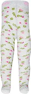 Ewers Blumen Babystrumpfhose Mädchen, MADE IN EUROPE, Mädchenstrumpfhose Strumpfhose Baumwolle