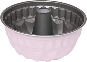 Wiltshire 40433 Two Tone Bundt Pan 21 cm, Cake Mould with Non-Stick Coating, Round Coated Pie tin with Pattern, Carbon Ste...