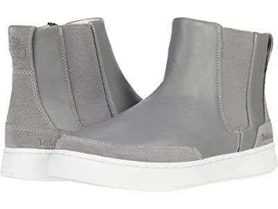 Timberland Atlanta Green Chelsea Side Zip (Medium Grey Full Grain) Women