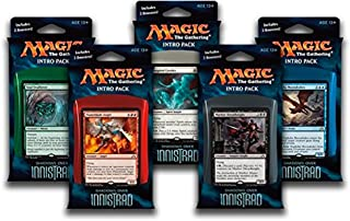 Magic the Gathering: MTG Shadows over Innistrad: Combo Intro Pack / Theme Deck (Set of All 5 Intro Packs / Decks including Alternate Art Promo Cards)