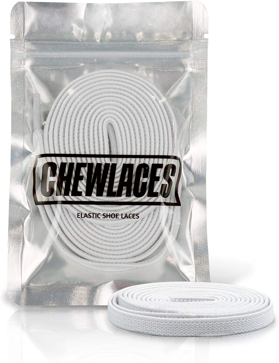 CHEWLACES Max 51% OFF Elastic Shoelaces for Sneakers Max 45% OFF Flat Stretch Shoela