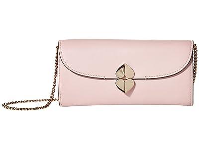 Kate Spade New York Lula Crossbody Wallet (Tutu Pink) Handbags