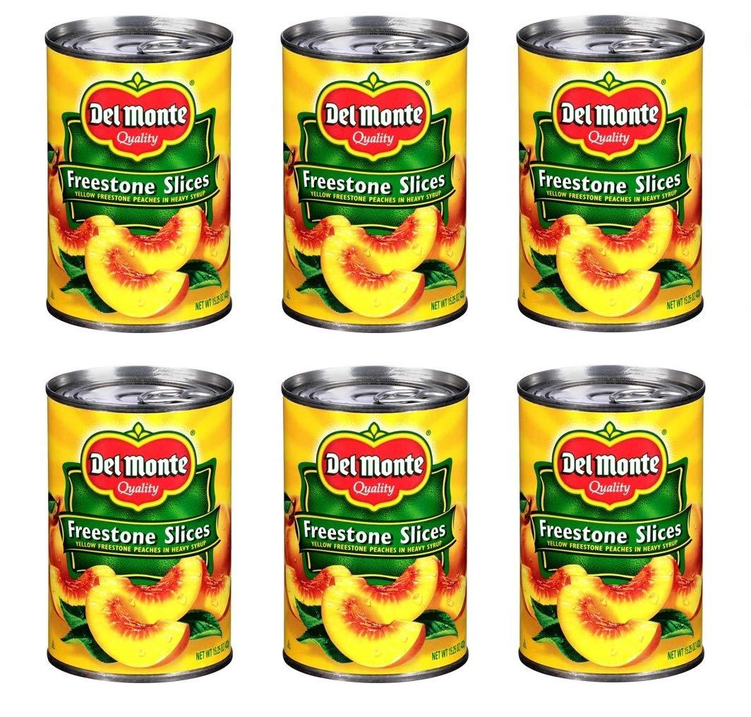 Del Monte Canned California Freestone Large-scale sale 15.25-Ounc Fresno Mall Peaches Sliced