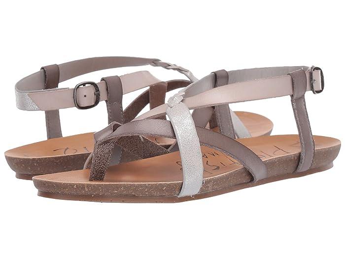 Blowfish  Granola-B (Fog Grey/Mist Dyecut/Steel Cosmic Metallic) Womens Sandals