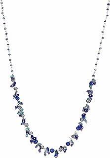 DCA Blue Glass/Sequins Women Necklace (4105)