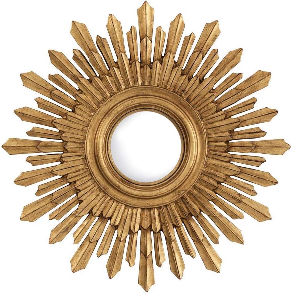 Amazon Com Gold Sunburst Mirror Eichholtz Sol Modern Glam Gold Wall Accent Mirror Decor Modern Luxury Decor Home Kitchen