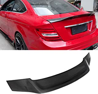 Carbon Fiber Rear Trunk Spoiler Wing for C Class W204 2-door Coupe 2007-2014