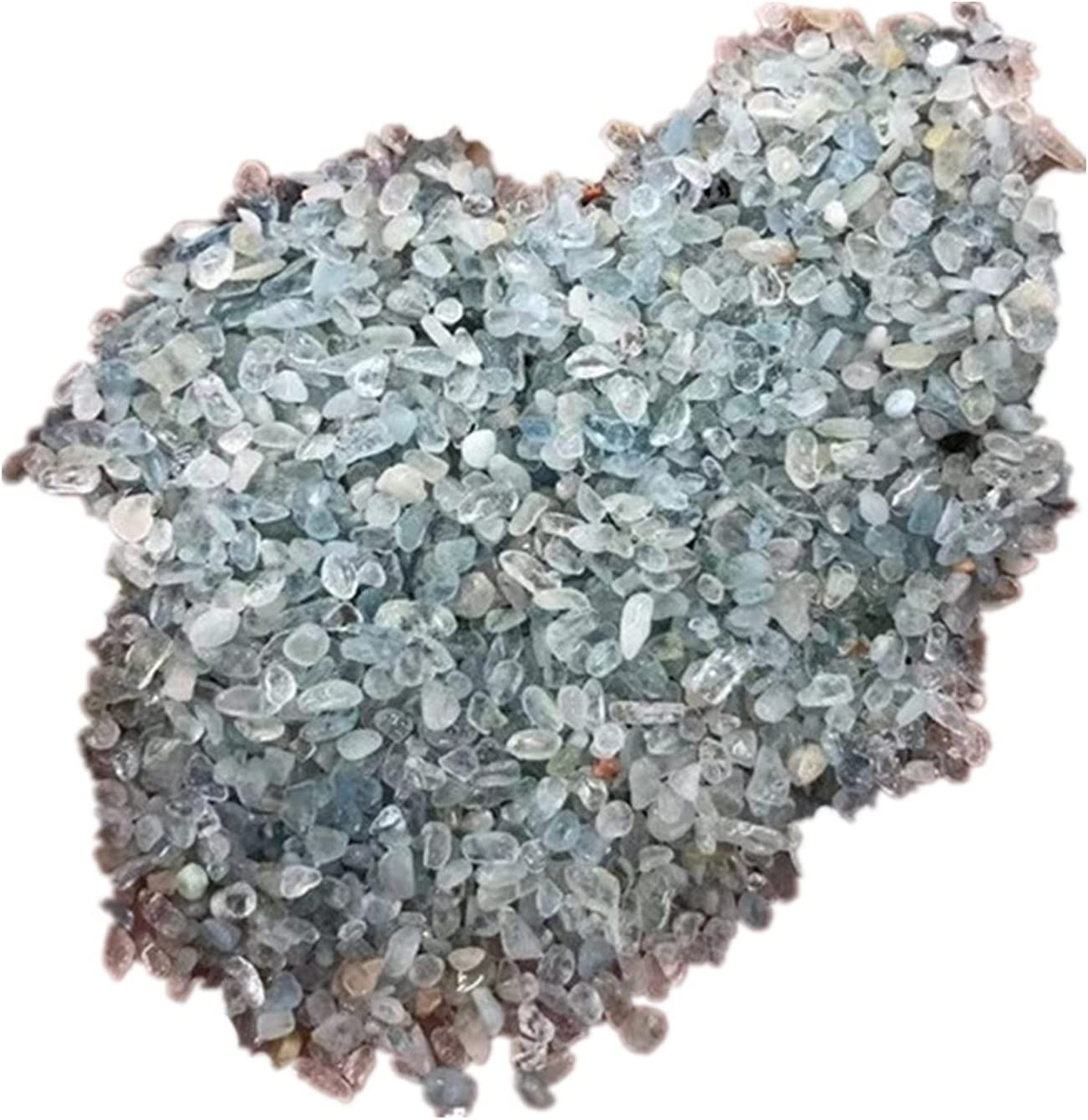 WZCUICAN Aquamarine Crystal Chips Raleigh Mall Polished Natural Financial sales sale Gra Wholesale