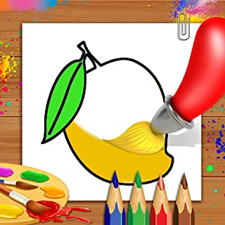 Best fruits drawing for colouring Reviews