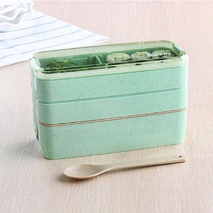 SDKKY Mikrowelle-Lunch-Boxen, japanisches Unterraster Lunch-Boxen B06X3ZXMHM | Genial