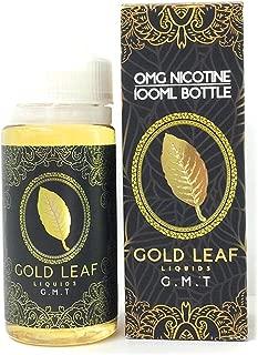 GOLD LEAF LIQUIDS 電子タバコリキッド 100ml G.M.T