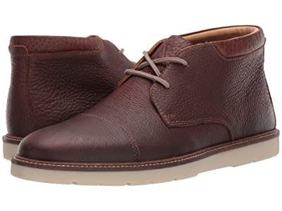 Clarks Grandin Top (Tan Tumbled Leather) Men