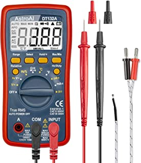 AstroAI Digital Multimeter, TRMS 4000 Counts Volt Meter (Manual and Auto Ranging);..