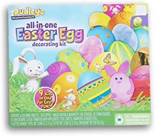 Dudleys All-In-One Easter Egg Decorating Kit - 9 Kits in One!