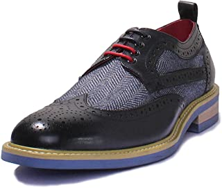 brogues with coloured soles
