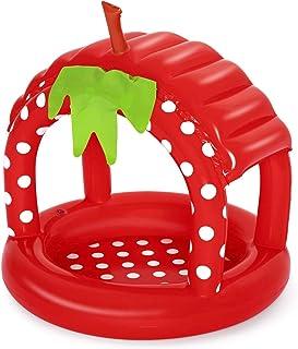 Bestway Baby Pool Very Berry 91 X 91 X 91 Cm, Inflatable Kiddie Play Pools, 52387