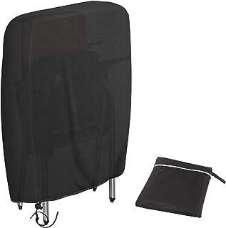 Redmoo Funda para sillas reclinables Plegables de Resistente a los Rayos UV Resistente al Viento Impermeable para Muebles de jardín Tumbona Plegable, Incluye Bolsa de Transporte Oxford (W97 * H110cm)