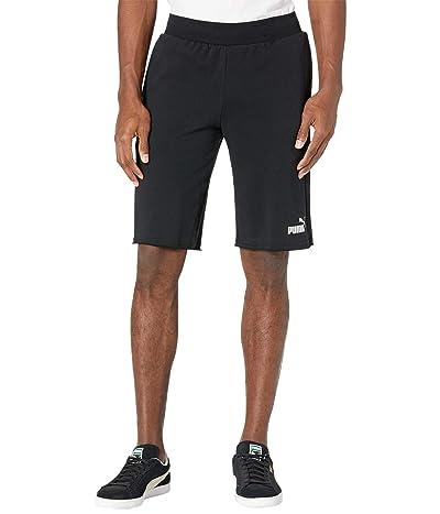 PUMA Essential Shorts 12 (PUMA Black) Men