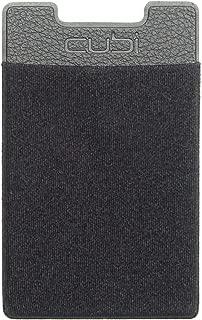 CardNinja Ultra-Slim Self Adhesive Credit Card Wallet for Smartphones, Black