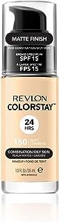 comprar comparacion Revlon Colorstay 24H, Base de maquillaje para rostro, para cutis mixto/graso, SPF15, con dosificador, color Beige (150 Buf...