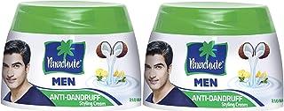Parachute Anti-Dandruff Hair Cream For Men, 2 x 140 ml
