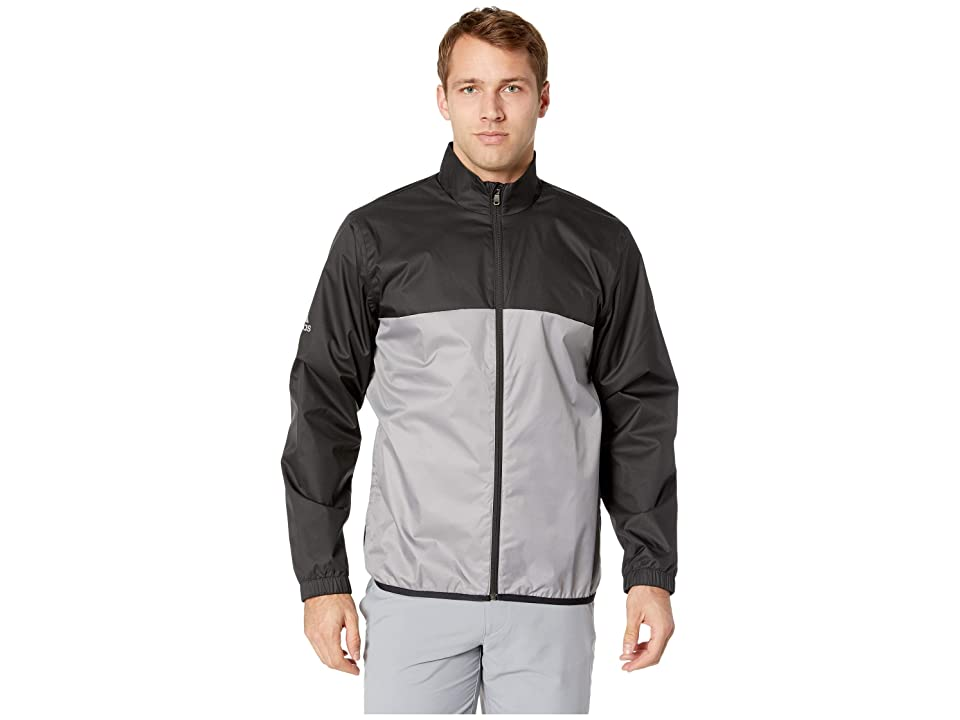 adidas Golf Climastorm Provisional Rain Jacket (Black) Men