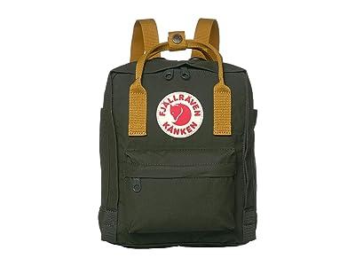 Fjallraven Kanken Mini (Deep Forest/Acorn) Backpack Bags