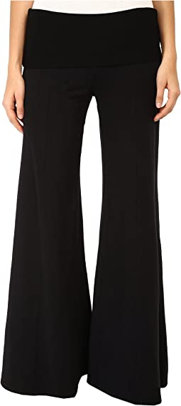 Cheviot Wide Leg Pant