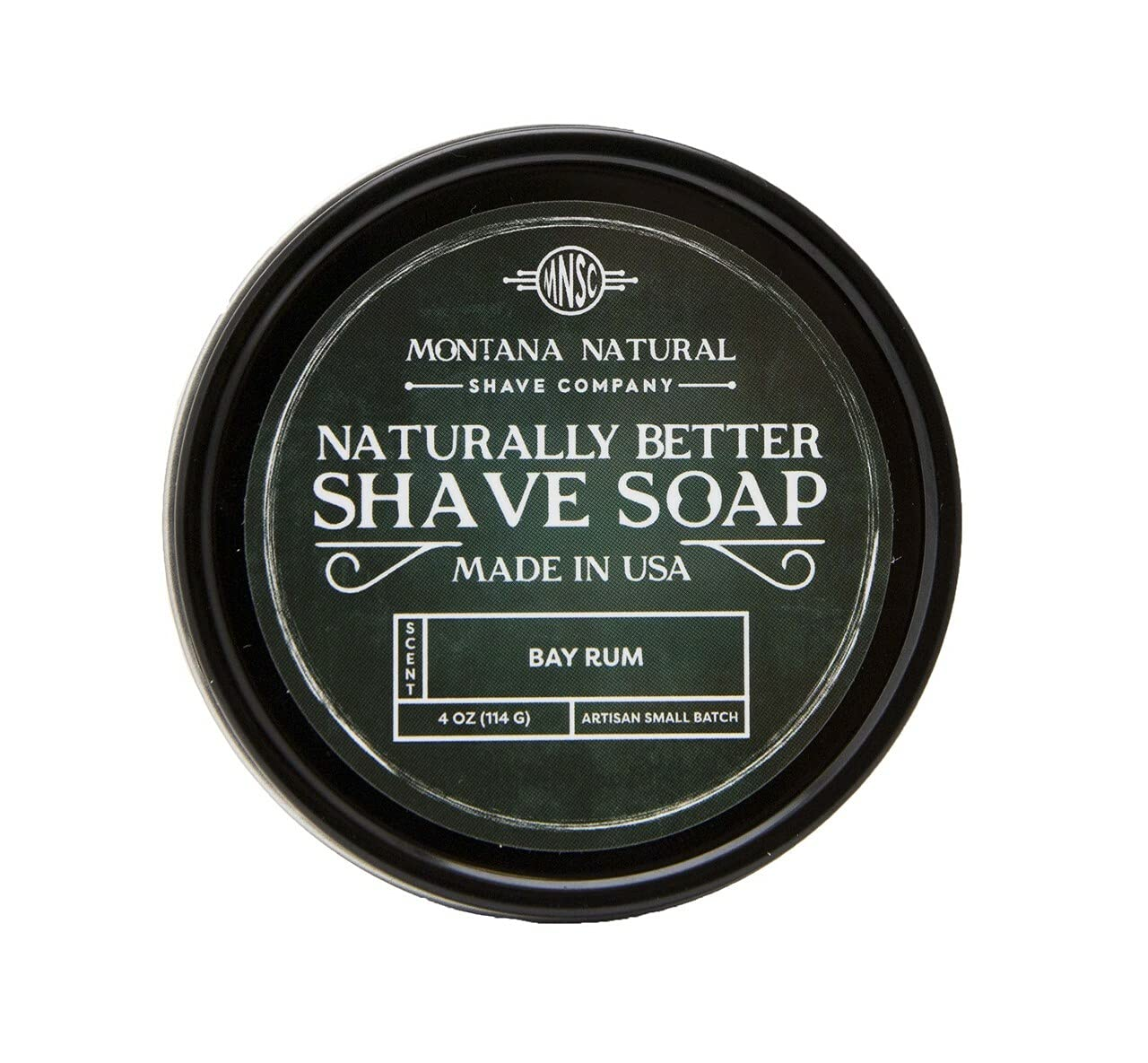 MNSC Bay Rum Artisan Small Batch Bett for Boston Mall Shave Many popular brands a Soap Naturally