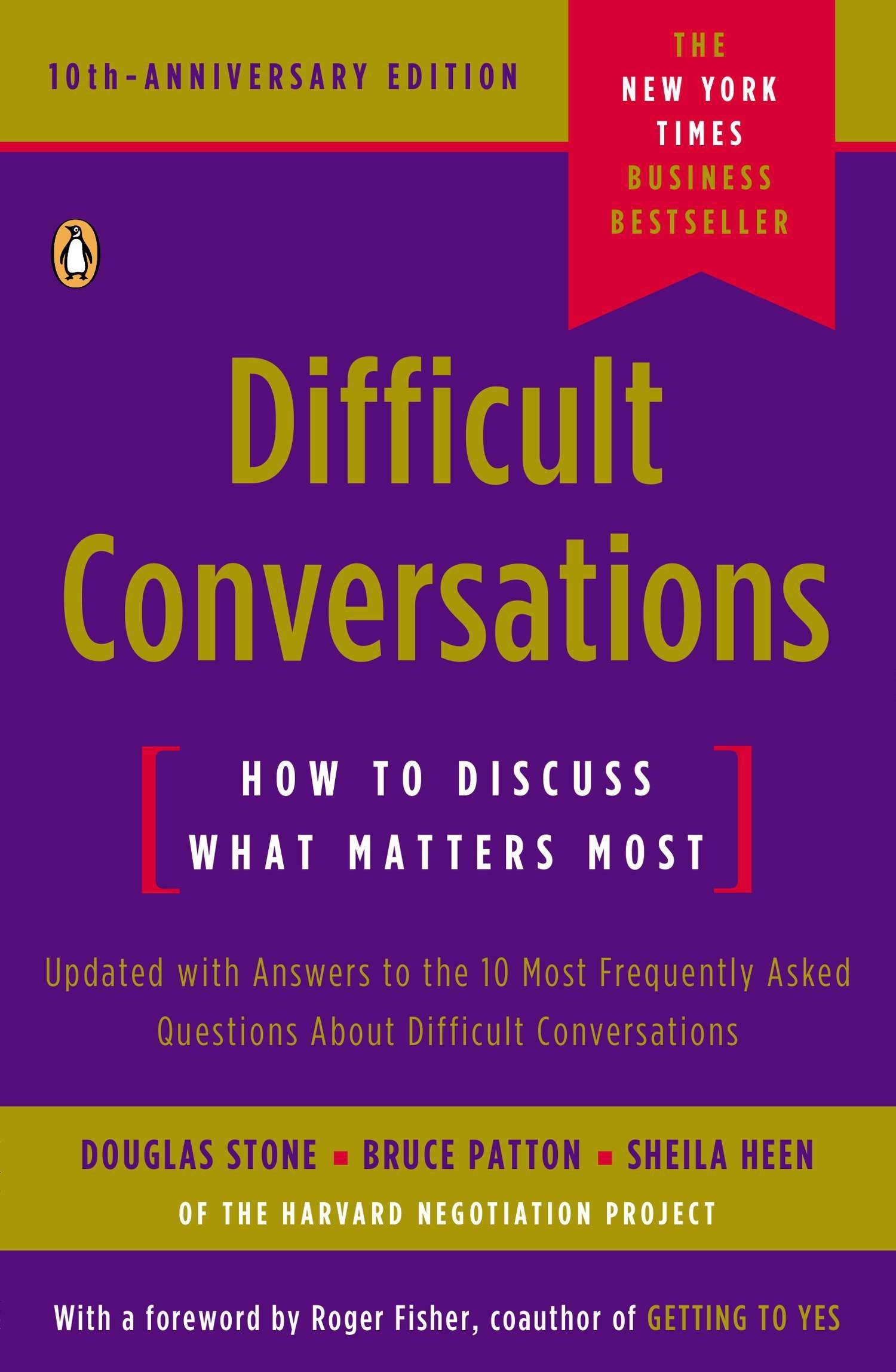 Image OfDifficult Conversations: How To Discuss What Matters Most