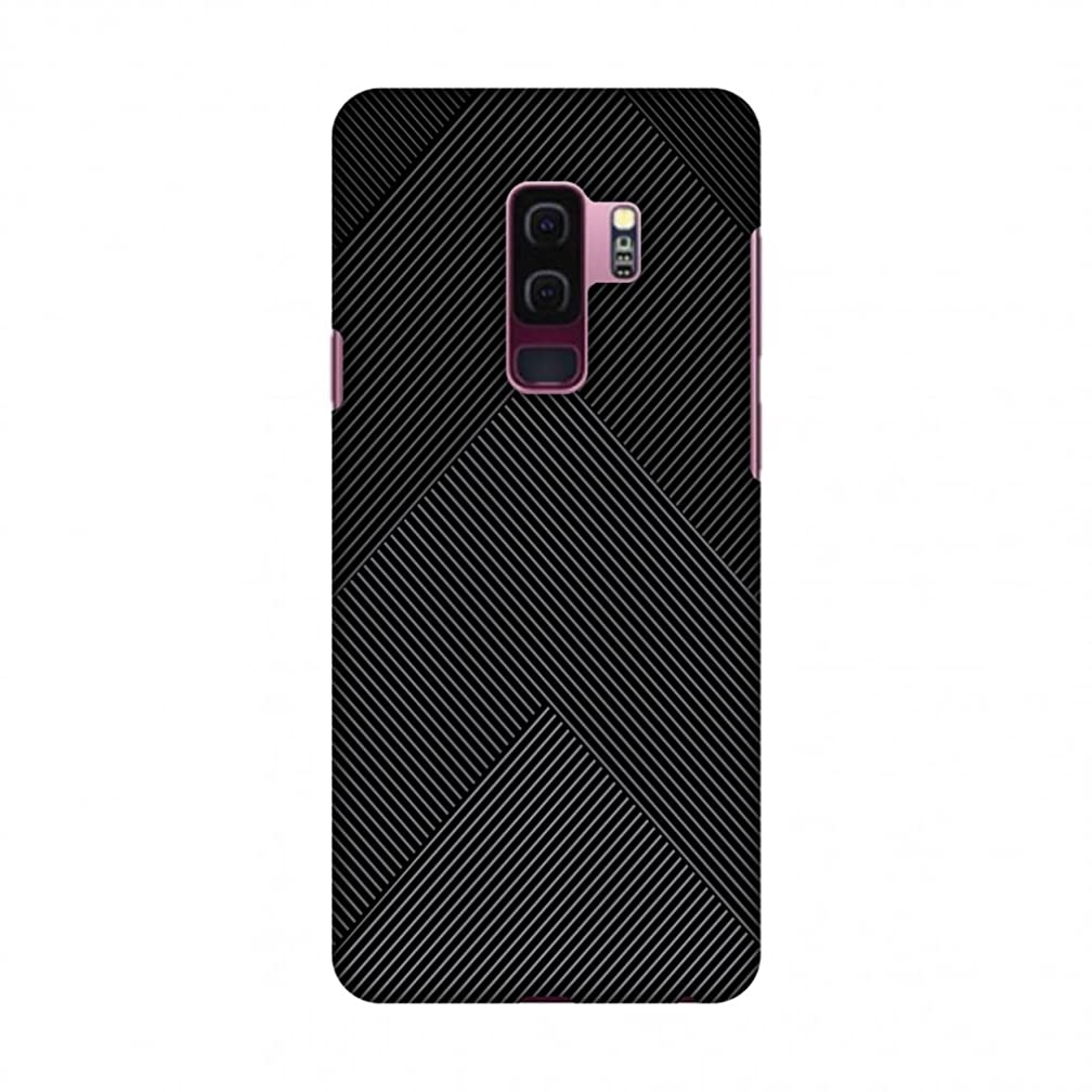 Amzer Slim Fit Hard Snap on Shell Case Back Cover with USB Type C Cable and Screen Care Kit for Samsung Galaxy S9 Plus - Carbon Fibre Redux 4
