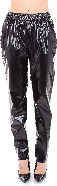 Msgm Women's 2541MDP3618461899 Black Synthetic Fibers Pants