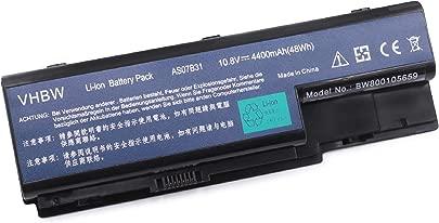 vhbw Li-Ion Akku 4400mAh  10 8V  f r Notebook  Laptop Acer eMachines E520  E720  G520  G720 wie AS07B32  AS07B72