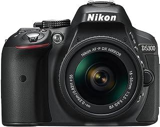 Nikon D5300 DSLR Camera with AF-P DX NIKKOR 18-55mm f/3.5-5.6G VR Lens (Black)