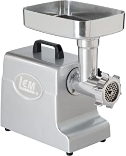 LEM Products 1158 Mighty Bite - Molinillo eléctrico para Carne, Aluminio