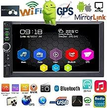 Binize 7 Inch Android 9.1 HD Quad-Core 2 Din Car Stereo Radio Multimedia Player NO-DVD GPS Navigation in-Dash Auto Radio Bluetooth/USB/WiFi DVR (2GB RAM+16GB ROM)