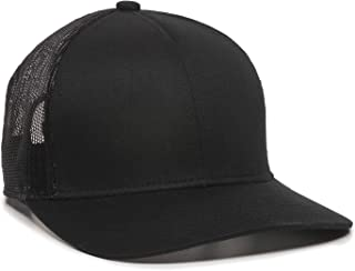 Structured mesh Back Trucker Cap