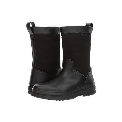 Cole Haan Millbridge Pull-On Boot Waterproof (Black/Black) Men