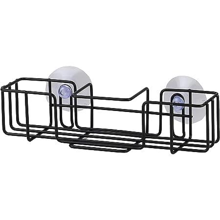 【BLKP】 パール金属 スポンジ置き スポンジラック スリム ポケット キッチン 収納 限定 ブラック BLKP 黒 AZ-5103