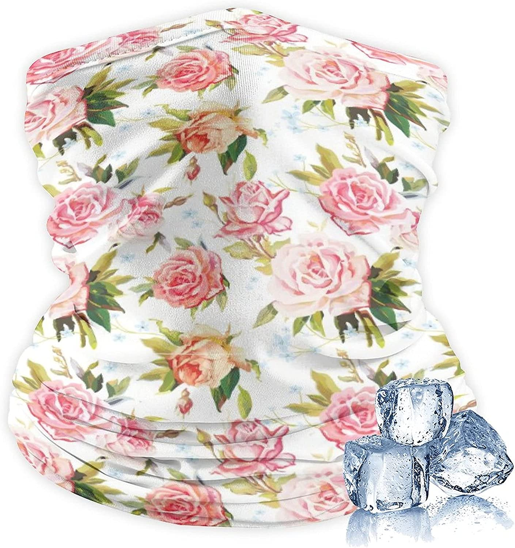 Unisex Neck Gaiter Multifunctional Face Cover Cooling Variety Headscarf Bandanas