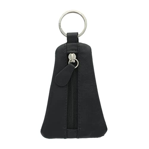 1bb82a4a5fe Ashlie Craft Logo Keyring with zipped leather pouch ACK1 Black