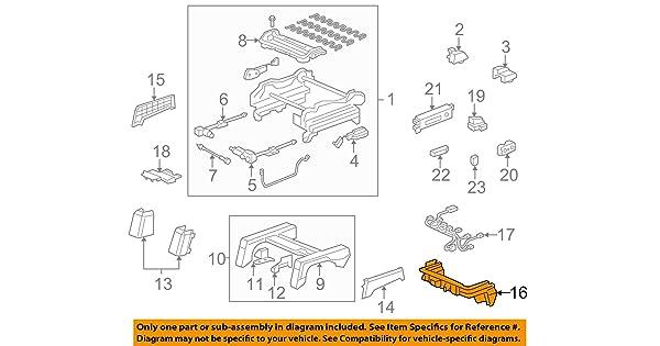 Honda Genuine 81596-SJC-A21ZE Seat Cover